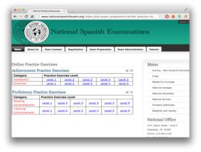 National Spanish Examinations
